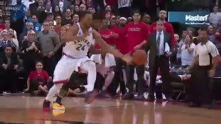 Norm Powell Steals the Ball and Ties Game With Superman Dunk | Buzzer-Beater