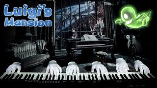 Ghostly Piano Trio Performs Luigi's Mansion Theme