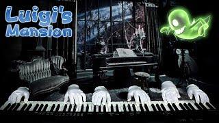 Ghostly Piano Trio Performs Luigi's Mansion Theme