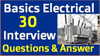 Electrical basics Interview question and answer in hindi || Electrical Interview Questions Answer -