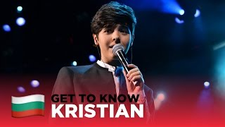 ESC 2017: Get to know... KRISTIAN KOSTOV from BULGARIA 🇧🇬
