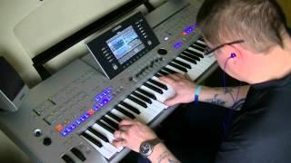 Ballade Pour Adeline - Yamaha Tyros 4. HD - Richard Clayderman