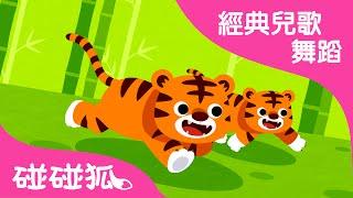 兩隻老虎 | 經典兒歌舞蹈 | 碰碰狐!兒童兒歌