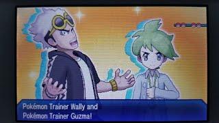 Pokemon Ultra Sun and Moon: Vs Guzma and Wally