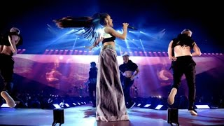 Break Free (W/ Light Show) - Ariana Grande Live in Sweden at The Dangerous Woman Tour (HD)