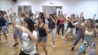 Dançando - Ivete Sangalo (aula da Unique em Santos)