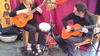 Keira Witherkay's  Duo Guitarras with Peter Theron  perform Song for Sue   live 2010