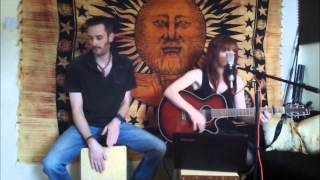 """Bad Moon Rising"", Creedence Clearwater Revival. Cover by The Dogwood Flowers. Acoustic Duo"