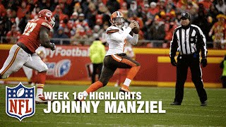 Johnny Manziel highlights (Week 16) | Browns vs. Chiefs | NFL