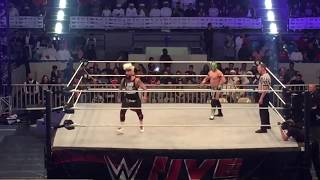 Kalisto Does a Booker T  - Can you Dig it Sucka against Enzo Amore