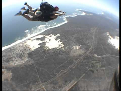 Bart goes Skydiving in South Africa