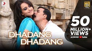 Dhadang Dhadang  -- Official Full Song Video Rowdy Rathore Akshay Kumar, Sonakshi Sinha, Prabhudeva. width=