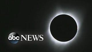 Crowds gather to witness solar eclipse in Oregon