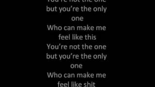 foo fighters the one with lyrics