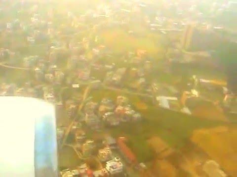 Pakistan International (PIA) Kathmandu Nepal Landing. Airbus A310/ Flight 268