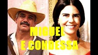 Tema de Miguel e Condessa de Campos (Tomásia) -  A Escrava Isaura (Record)