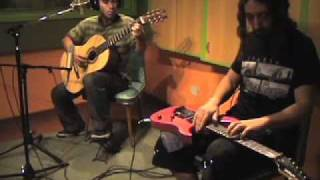 Pela Riquelme - Al lugar donde no nací - Sergio Paternó Electric Guitar Two Hands Tapping