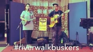 Mungkin saja - Janna nick cover by Elisa RWB Riverwalk Buskers