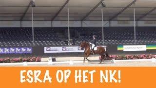 Esra op het NK!   PaardenpraatTV