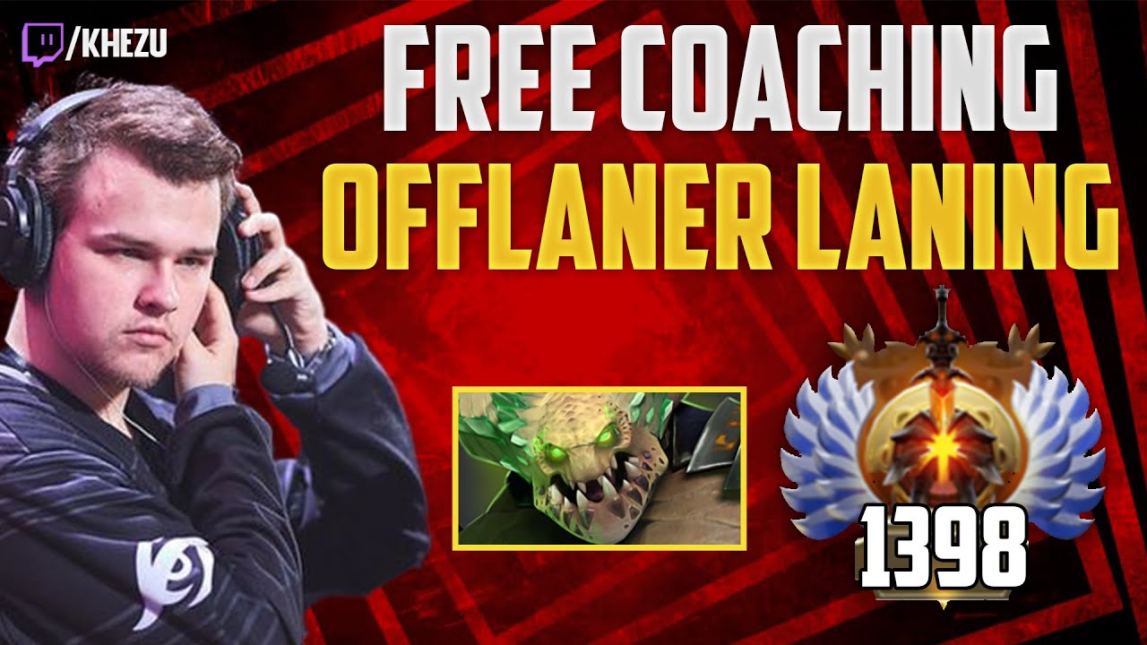 KheZu - How to DOMINATE your LANE as an OFFLANER (Underlord) - 10k MMR coaching
