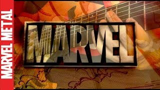 Marvel Studios Intro Logo Theme Song Fanfare Guitar Metal Cover | Marvel Metal