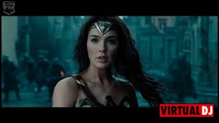 Tech N9ne 2Pac  Eminem - Till I Die (  Wonder Woman movie clip )
