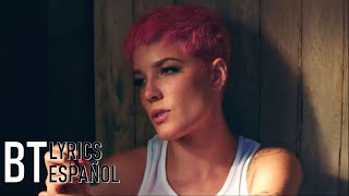 Halsey - Without Me (Lyrics + Español) Video Official