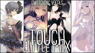 Nightcore ↬ Touch [Switching Vocals | Little Mix]