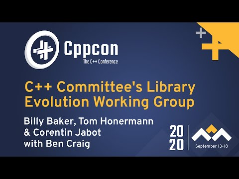 C++ Committee's Library Evolution Working Group Panel