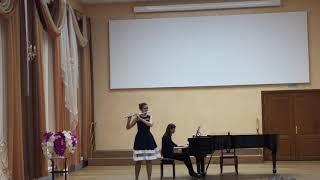 Tarantella. Joachim Andersen, Op.55.№8. Flöte Onegina Aleksandra