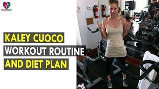 Kaley Cuoco Workout Routine & Diet Plan    Health Sutra - Best Health Tips