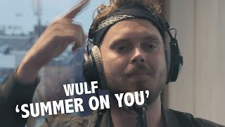 Wulf - 'Summer On You' (acoustic, original with Sam Feldt, Lucas & Steve) @ live Ekdom in de Ochtend