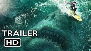 The Meg Official Trailer #1 (2018) Jason Statham, Ruby Rose Megalodon Shark Movie HD width=