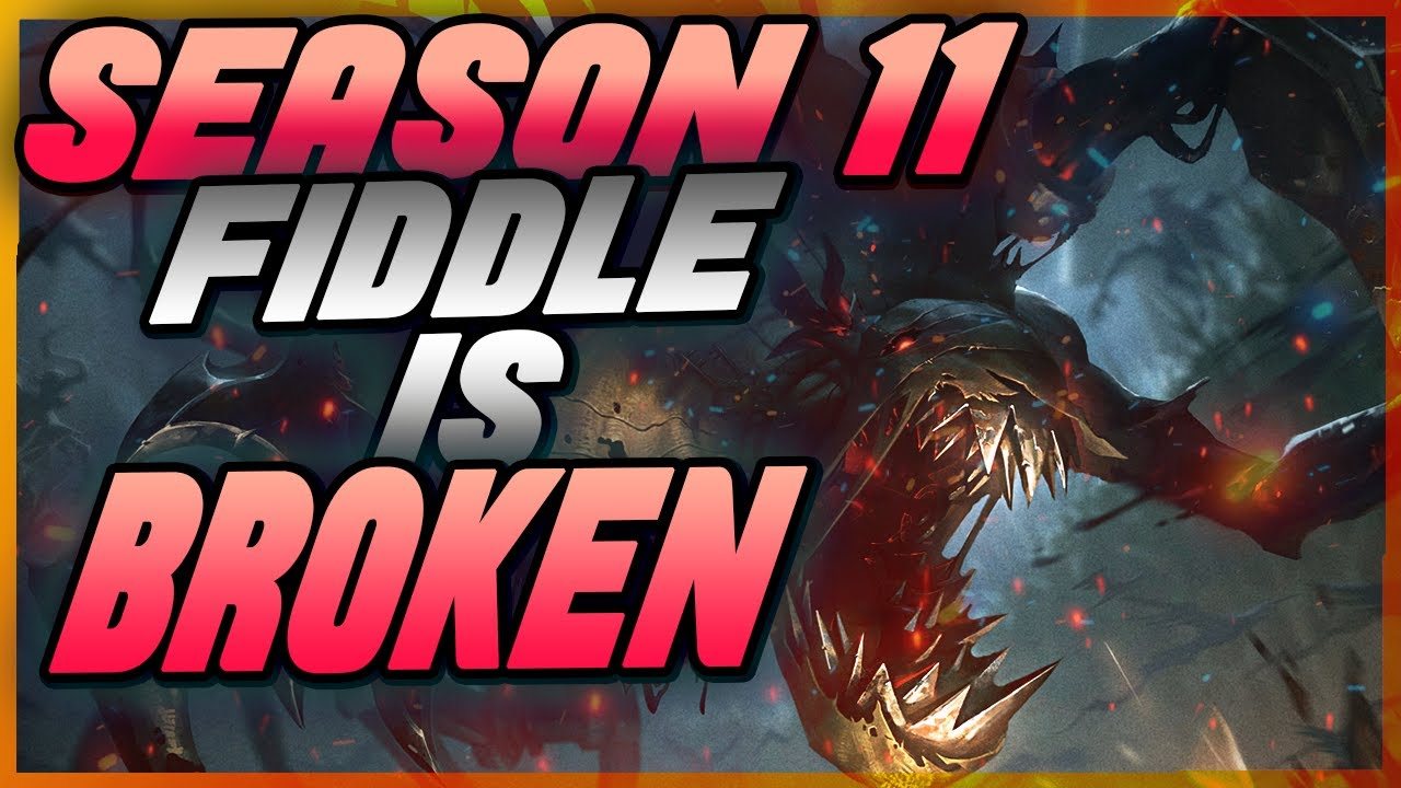 ForestWithin - NEW SEASON 11 FIDDLESTICKS BROKEN! GOD BUILD! NEW AP ITEMS ARE CRANKED