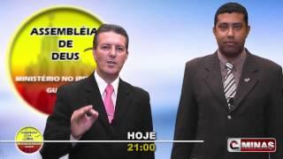 Não percam o programa Assembléia de Deus Ministério do Ipiranga de hoje