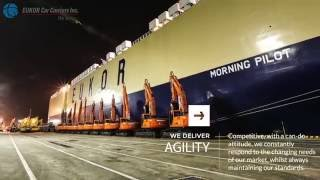 EUKOR Car Carriers with BGM [Official Video]