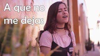 A que no me dejas - Alejandro Sanz (cover) Natalia Aguilar con Oscar Díaz de León (Grupo Arranke)
