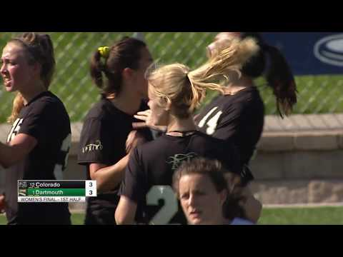 Video Thumbnail: 2018 College Championships, Women's Final: Dartmouth vs. Colorado