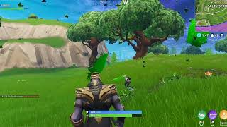 Fortnite Thanos, why are you running