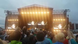 Liam Fray Speech - Courteeners @ Old Trafford Cricket Ground (27/5/17)
