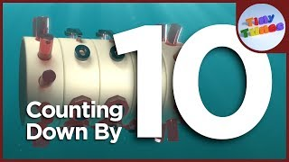 Counting Down By 10 | Tiny Tunes