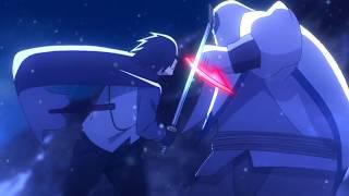 Sasuke Using Rinengan vs Kinshiki Otsutsuki in Kaguya's Palace - Eng Subs [HD 60FPS]