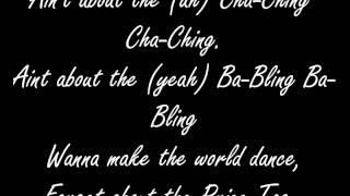 Jessie J feat. B.O.B - Price Tag (Songtext)