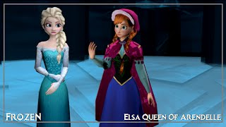 [MMD Frozen] Elsa hates Let it go cover by Anna [meme?]