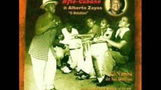 Grupo Afrocubano de Alberto Zayas - El Vive Bien