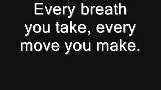 James Arthur - Every breath you take lyrics