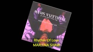 Marlena Shaw - RHYTHM OF LOVE