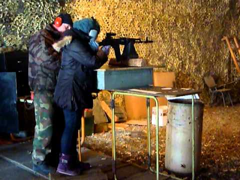 Sniper girl in Ukraine, hahah!