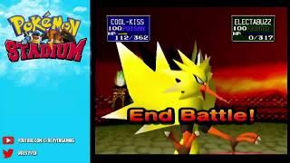 Pokemon Stadium Round 2 Rival Pop-Off (from live stream)
