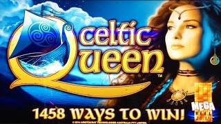 ++NEW Aristocrat Celtic Queen slot machine - live play